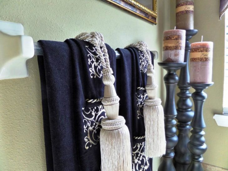 Decorative Towels For Bathroom Ideas