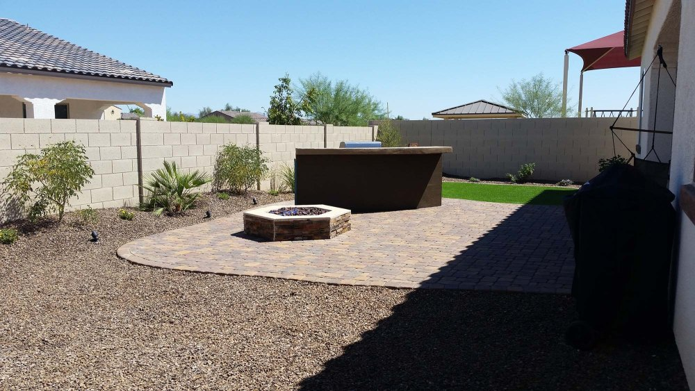 Desert Landscape Ideas For Small Backyards