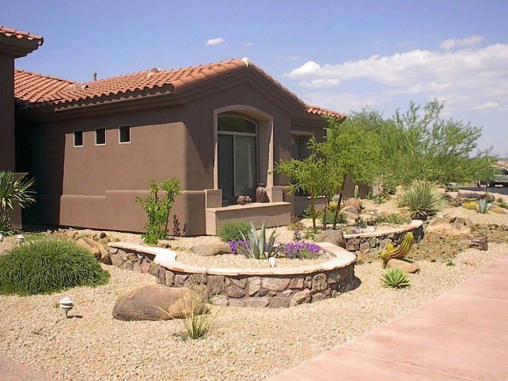 Desert Landscaping Ideas Phoenix Az