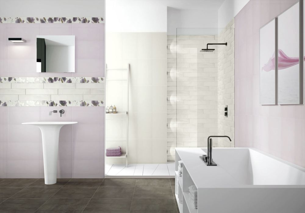 Designs For Bathroom Walls