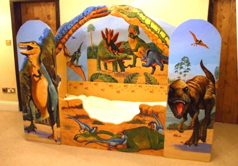 Dinosaur Bed Frame