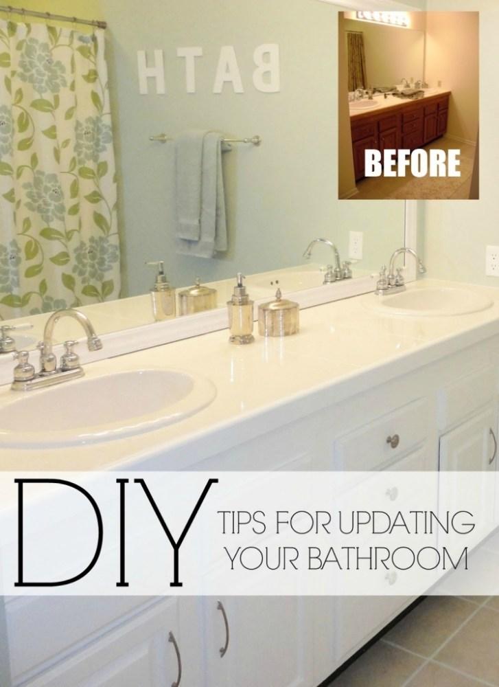 Diy Bathroom Decorating Ideas On A Budget