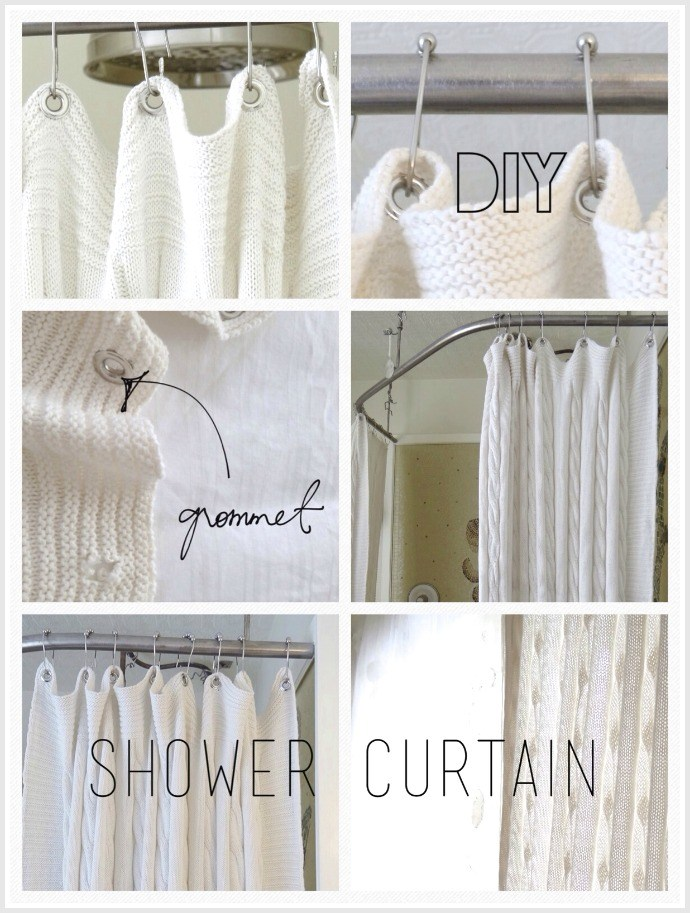 Diy Bathroom Shower Curtain Ideas
