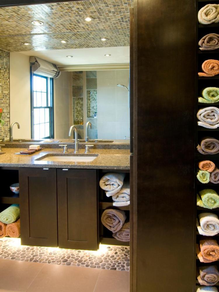 Diy Bathroom Towel Storage Ideas