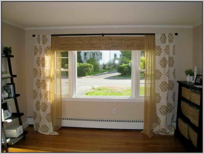 Diy Bathroom Window Curtain Ideas