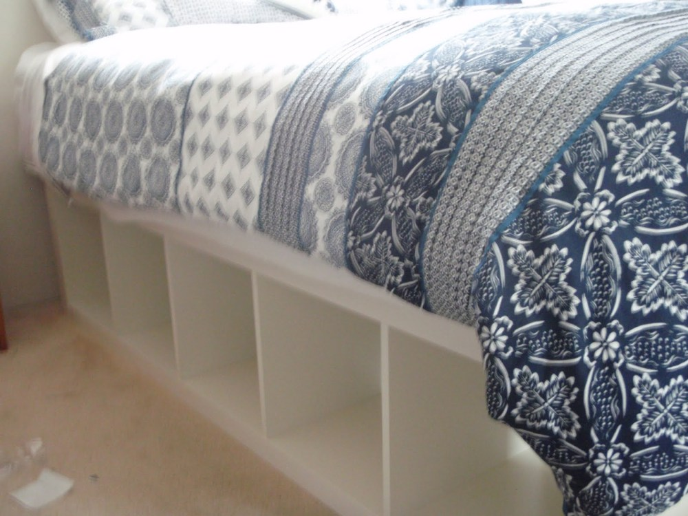 Diy Bed Frame With Storage Ikea