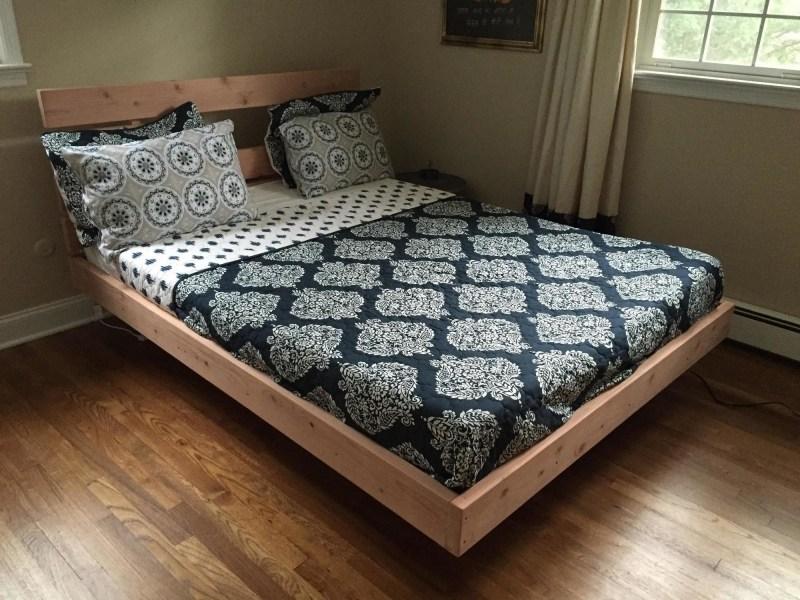 Diy Floating Platform Bed Frame