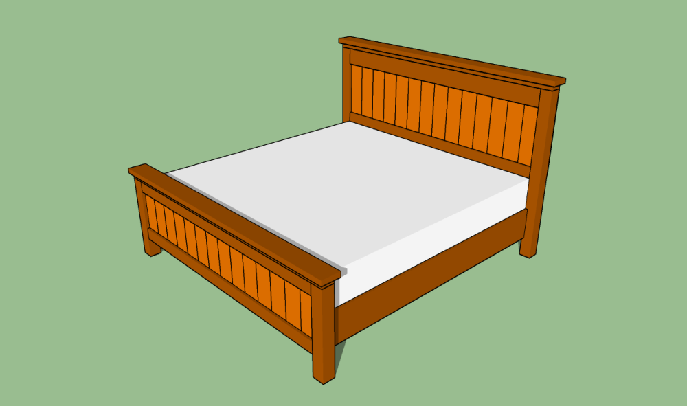Diy King Bed Frame Plans