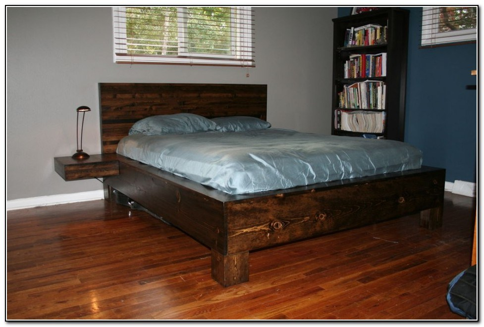 Diy King Size Platform Bed Frame