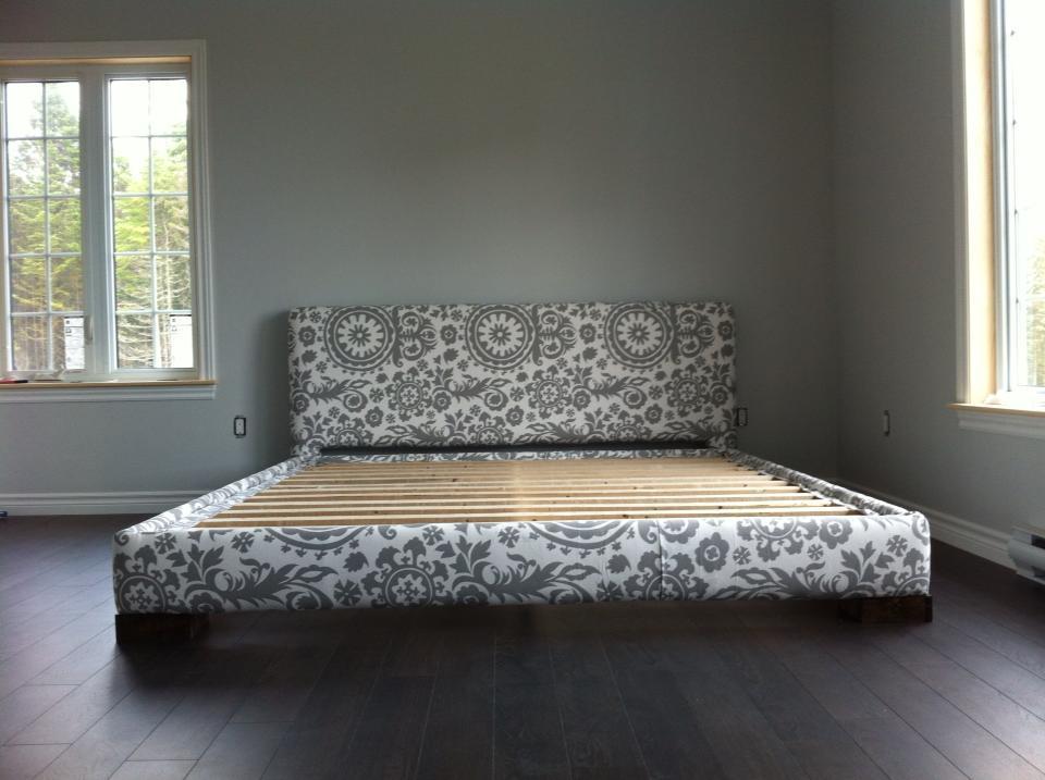 Diy King Size Upholstered Bed Frame