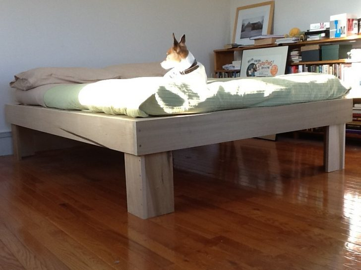 Diy Pallet Bed Frame Instructions