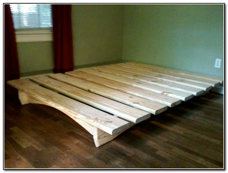 Diy Platform Bed Frame Plans