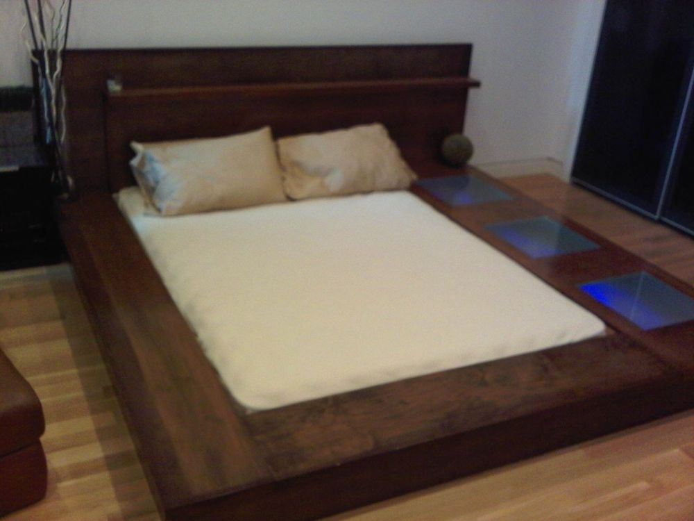 Diy Platform Bed Frame With Storage