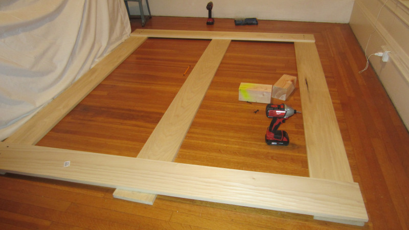 Diy Platform Bed Frame With Trundle