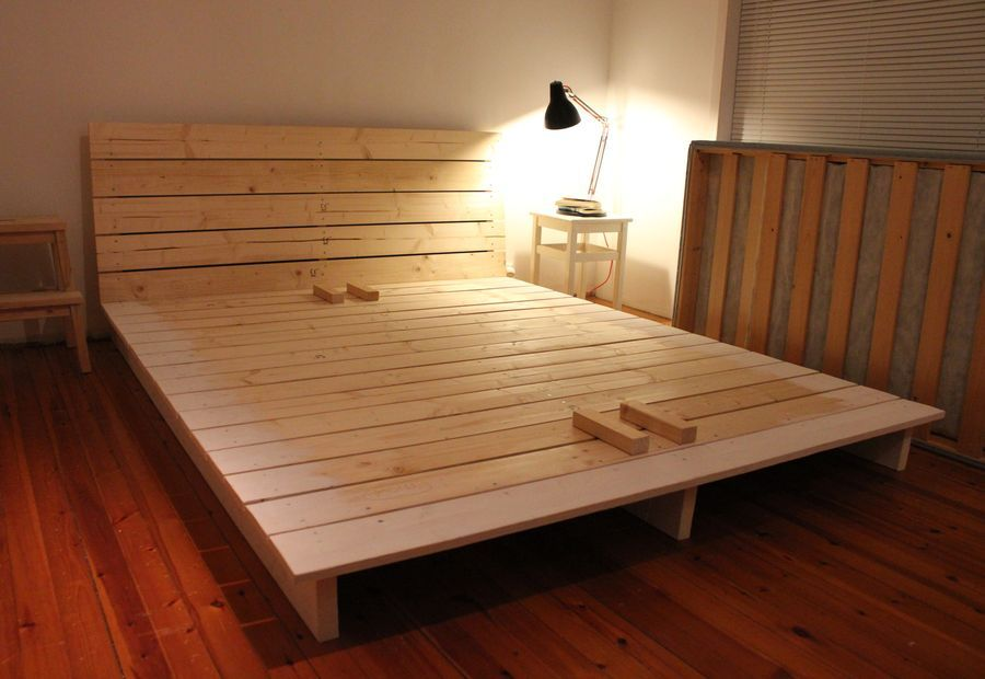 Diy Platform Bed Frame