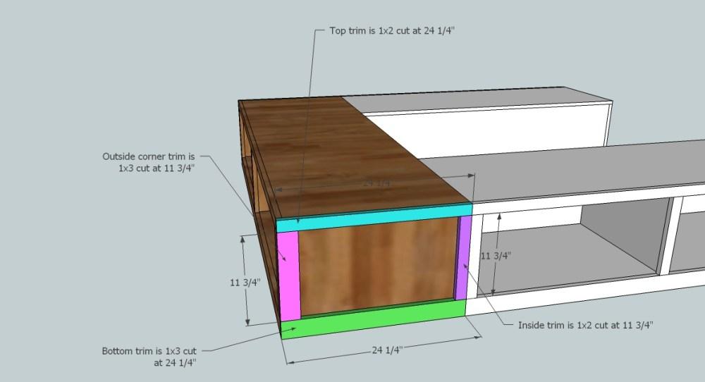 Diy Storage Bed Frame King