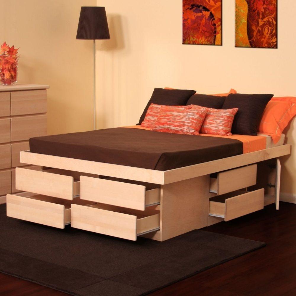 Diy Tall Queen Bed Frame