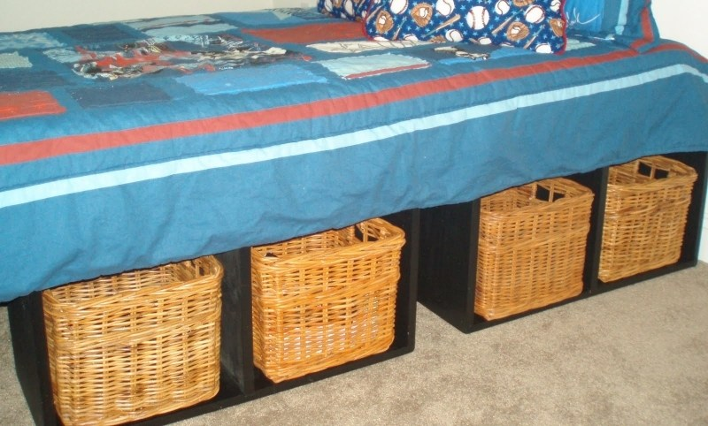 Diy Twin Bed Frame With Drawers