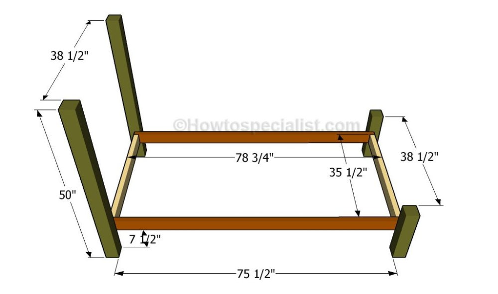 Diy Twin Bed Frame With Storage Plans