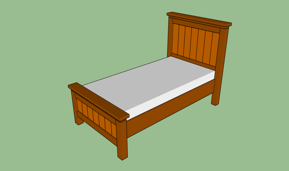 Diy Wood Twin Bed Frame