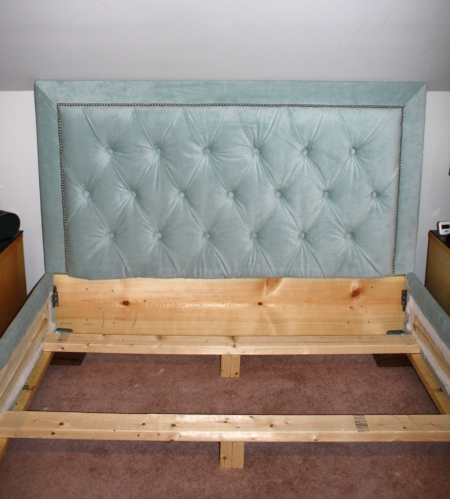 Do It Yourself Bed Frame And Headboard
