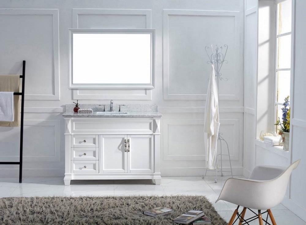 Double Bathroom Vanity Small Space