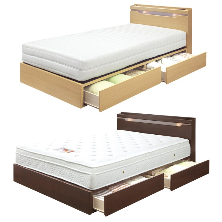 Double Bed Frame With Drawers