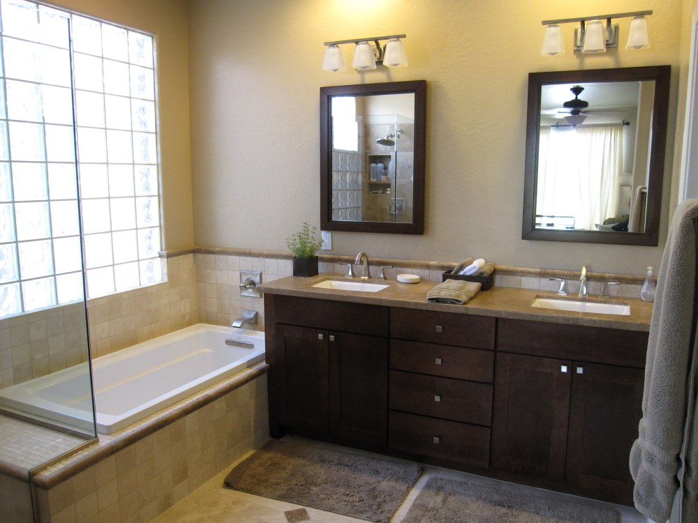 Double Vanity Bathroom Mirror Ideas
