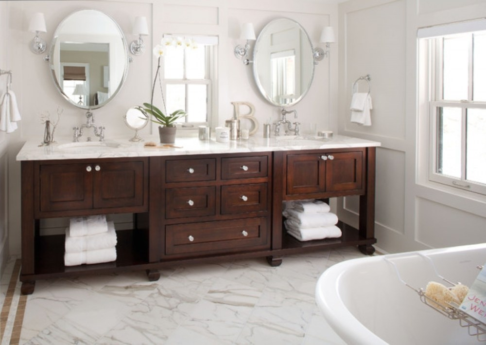 Double Vanity Small Bathroom Ideas