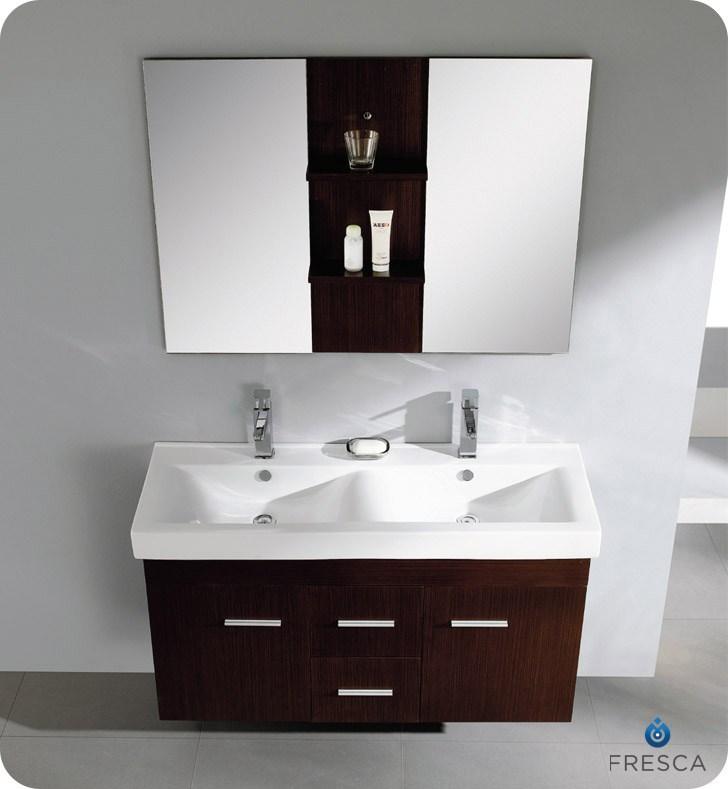 Double Vanity Small Bathroom