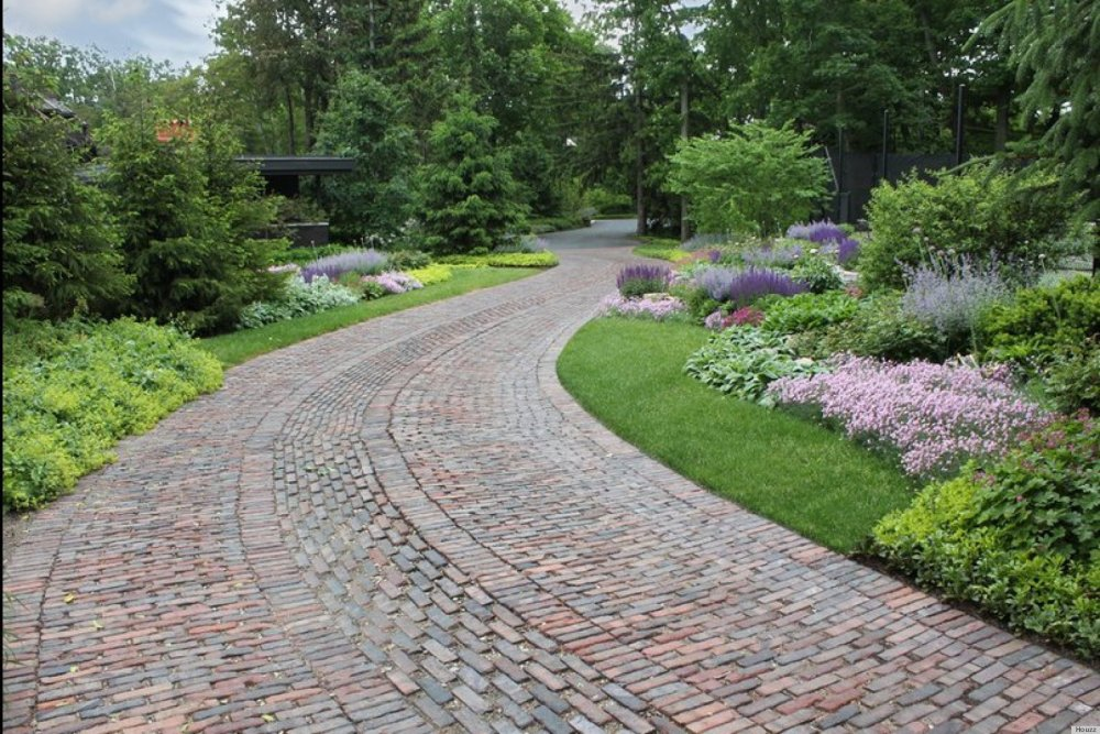 Driveway Entrance Landscaping Ideas Pictures