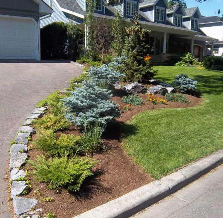 Driveway Landscaping Images
