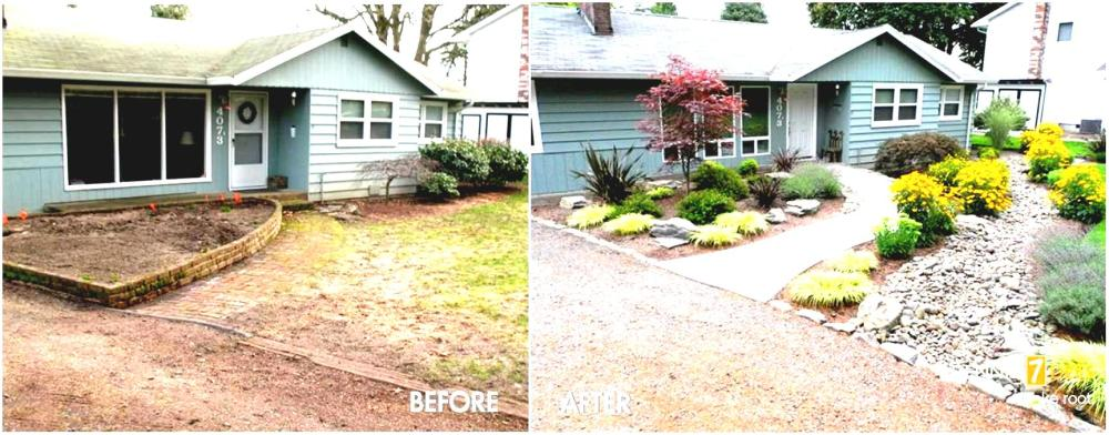 Easy Front Lawn Landscaping Ideas