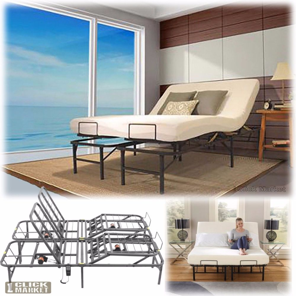 Electric Adjustable King Bed Frame