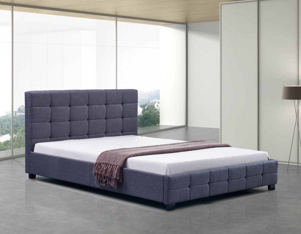 Fabric Button Bed Frame