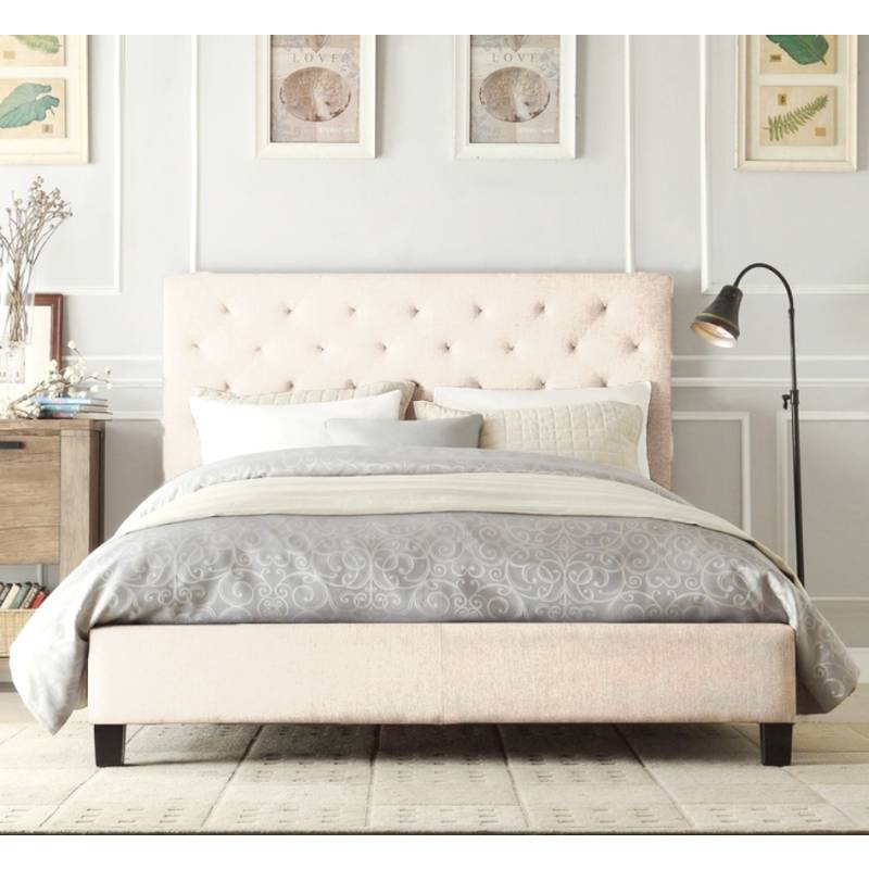 Fabric Queen Size Bed Frame