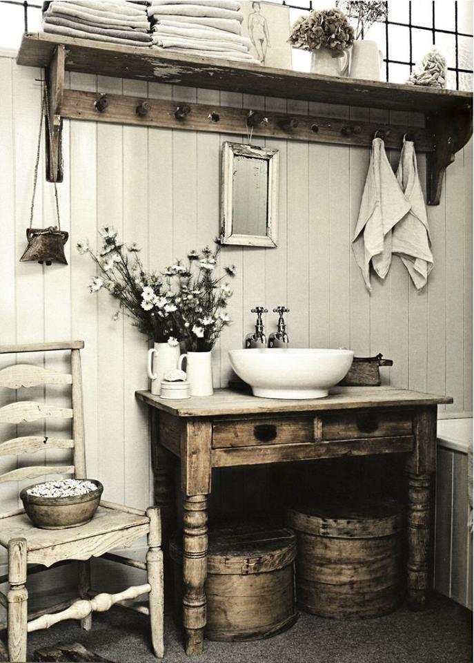 Farmhouse Bathroom Ideas Pinterest