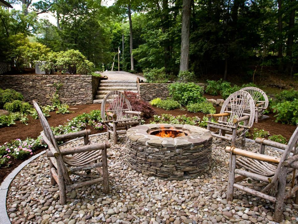 Fire Pit Landscaping Images