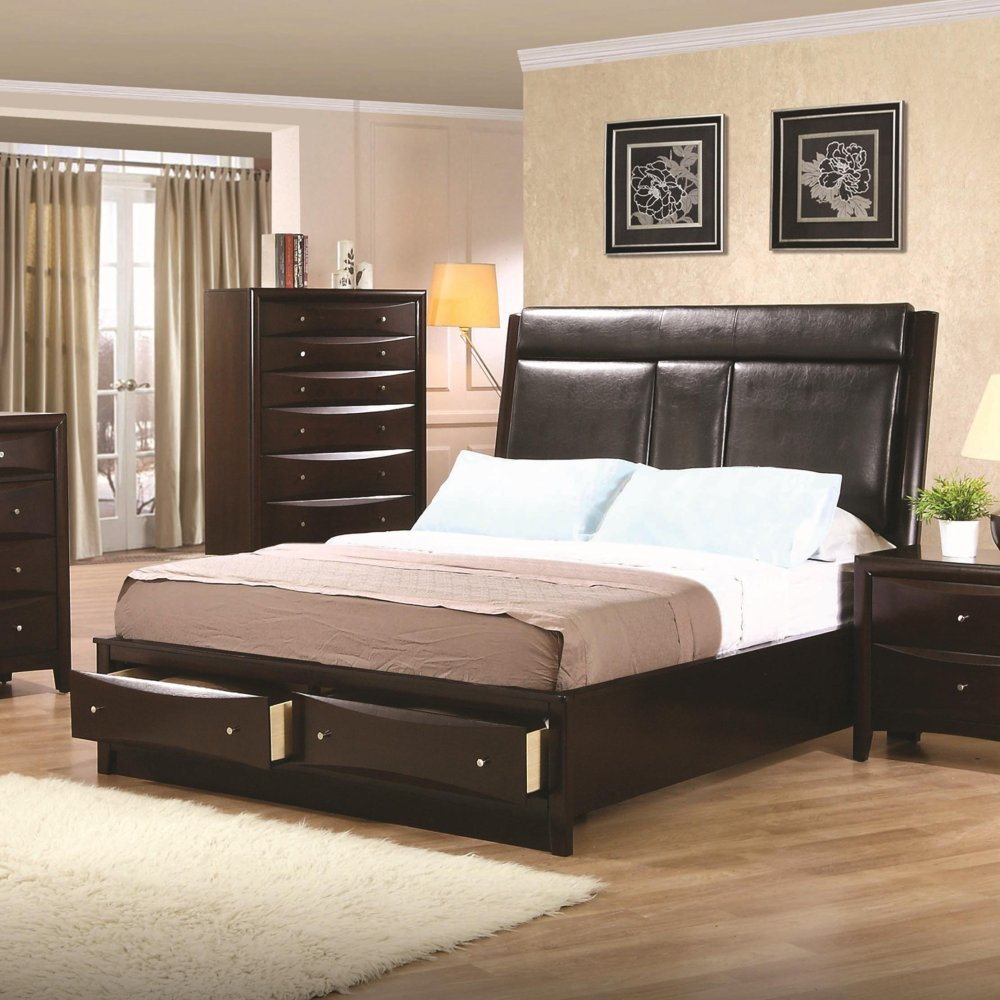 Flat Platform Bed Frame King