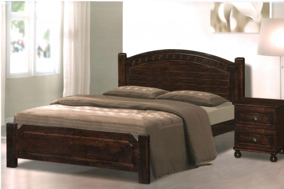 Flat Wooden Bed Frame