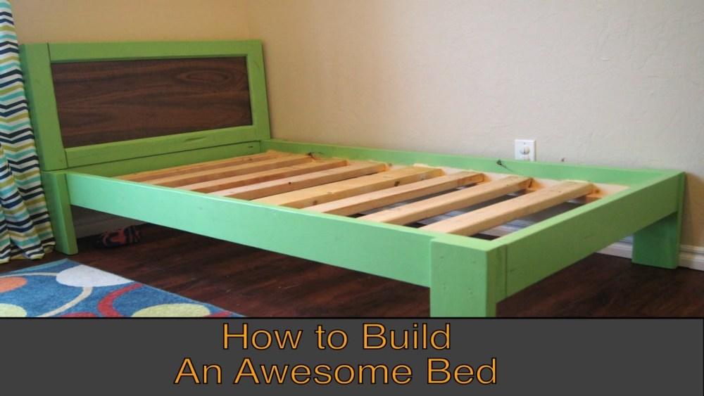 Floating Bed Frame Blueprints
