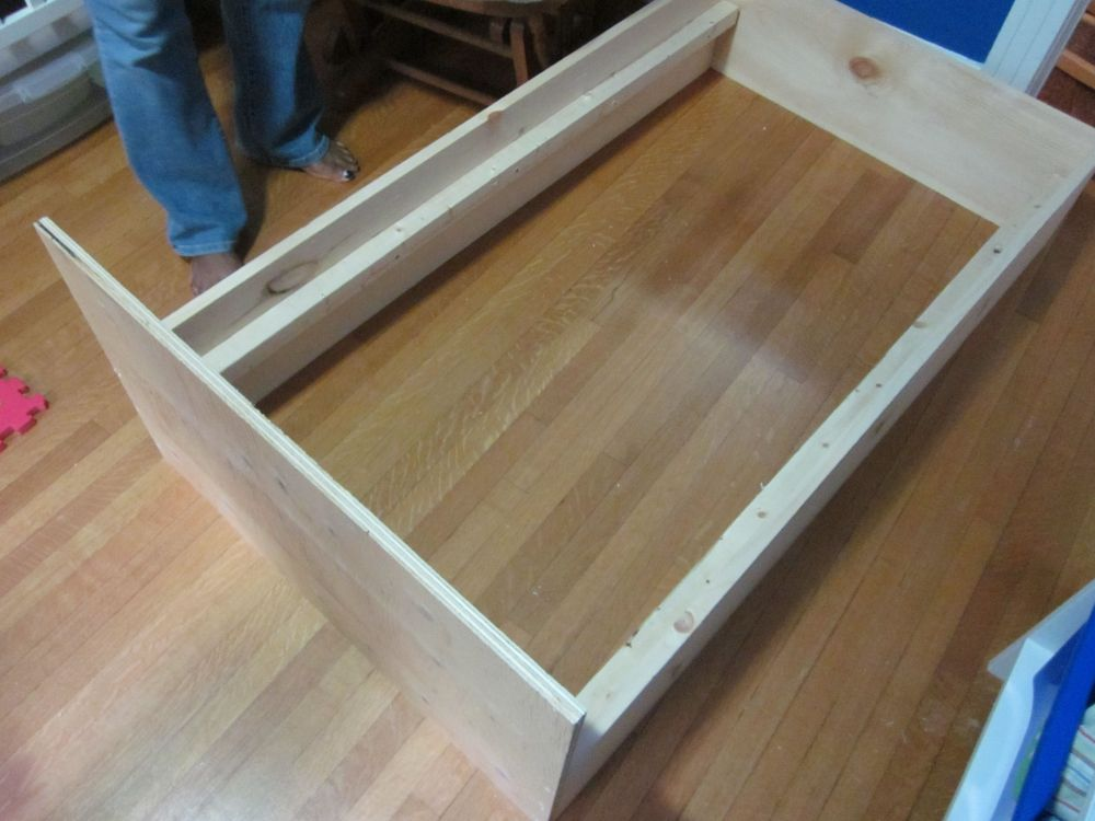 Floor Bed Frame Diy