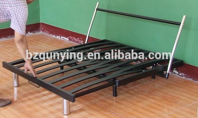 Fold Up Metal Bed Frame