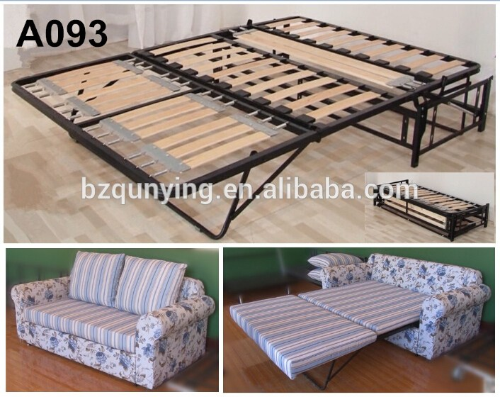 Folding Bed Frame Wood