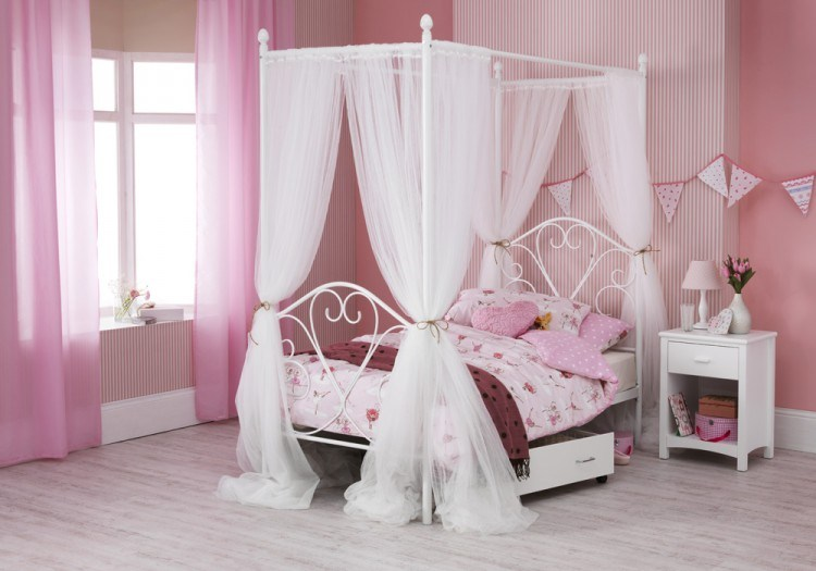 Four Poster Bed Frame Single