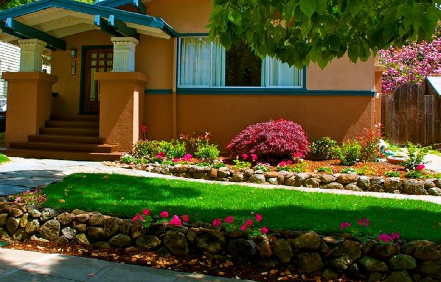 Front Of House Landscaping Ideas Shade