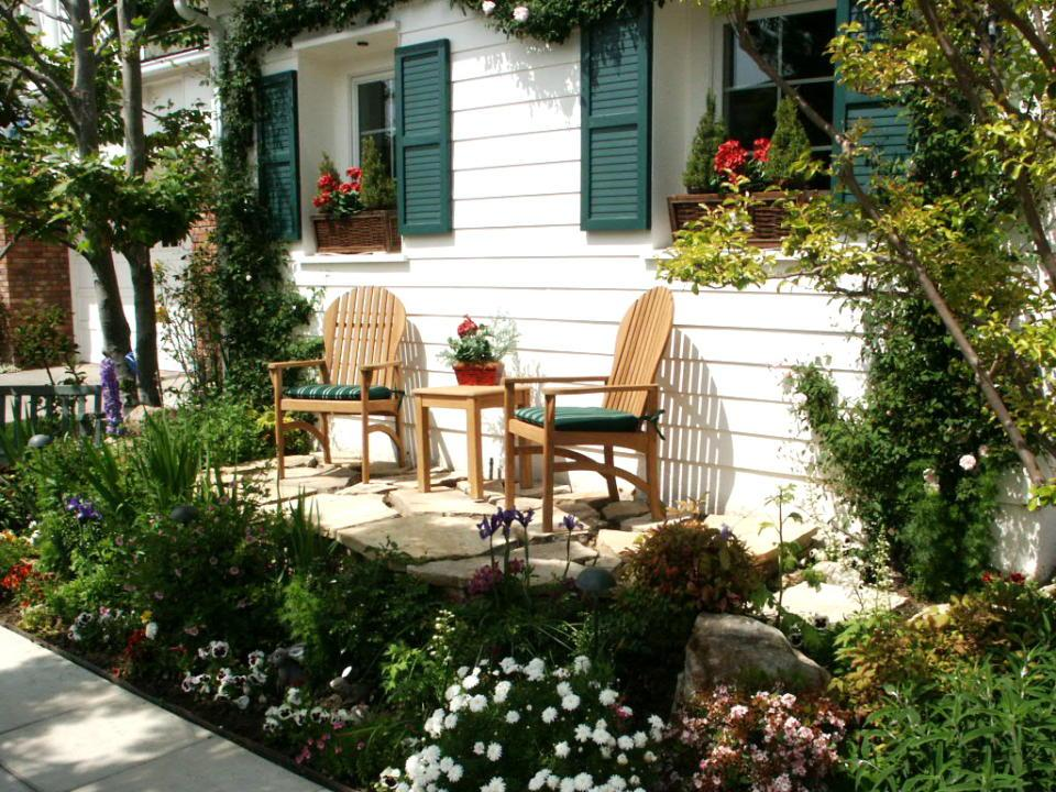 Front Porch Landscape Design Ideas