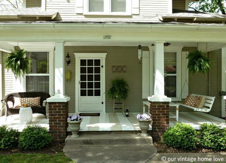 Front Porch Landscaping Images