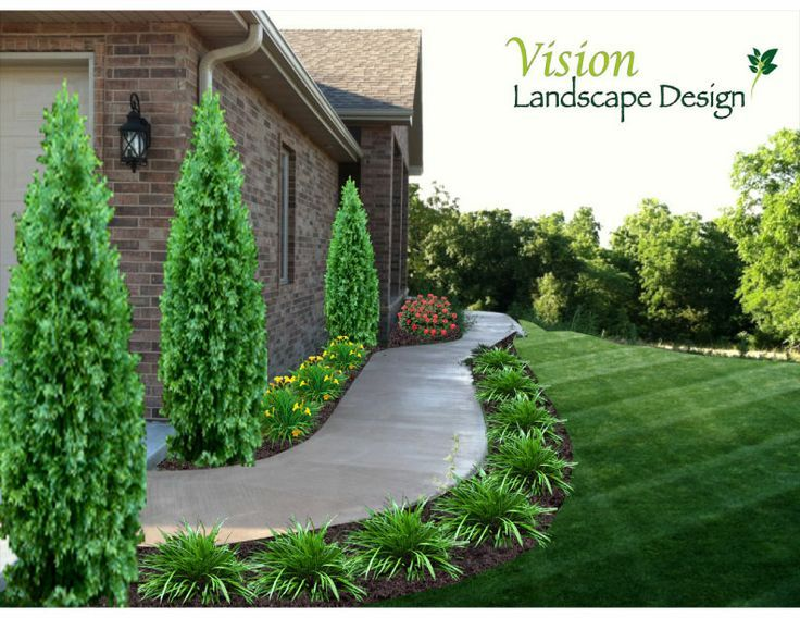 Front Sidewalk Landscaping Ideas