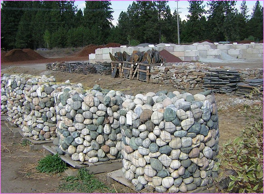 Front Yard Landscaping Ideas With River Rock
